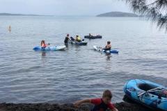 Kayak-ing with fam.