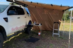 BCF supplied awning and sidewalls.