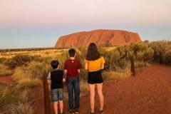 Uluru family adventure