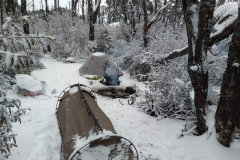 Winter camp at Mt Baw Baw
