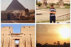 Solo trip to Egypt just right after the Arab Spring and all the political violence.