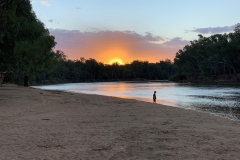 Sunset on The Murray