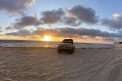Sunset at Wilbinga Beach