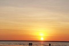 Mindil Beach sunset in Darwin.
