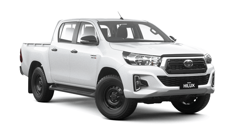 New Model White Toyota Hilux SR5 Dual Cab