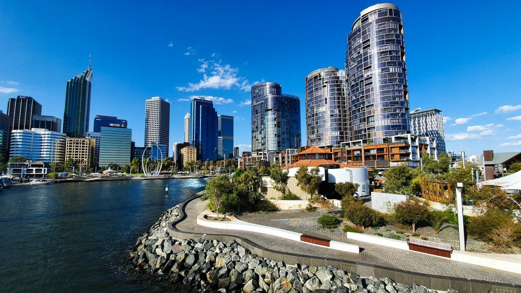 Photograph of the city of Perth