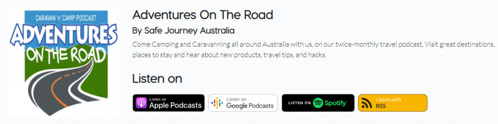 adventures on the road podcast